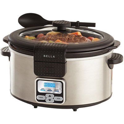 Sensio Bella 6 Qt Programmable Slow Cooker - 6 quart