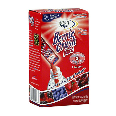 Healthy To Go! Berrie Crush Plus C Dietary Supplement