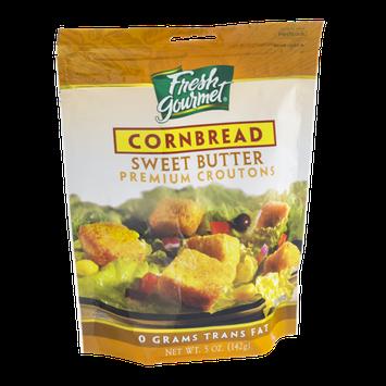 Fresh Gourmet Premium Croutons Cornbread Sweet Butter