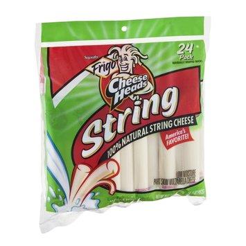 Frigo Cheese Heads 100% Natural String Cheese - 24 CT