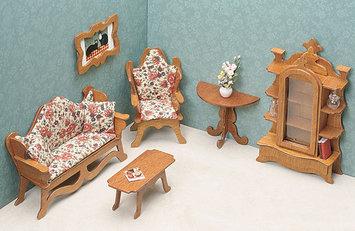Greenleaf 7203 Living Room Dollhouse Furniture Kit