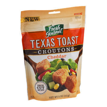 Fresh Gourmet Texas Toast Croutons Cheddar