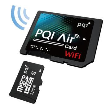 Pqi PQI Air Card 32GB Wireless Flash Memory Wi-Fi Memory Card