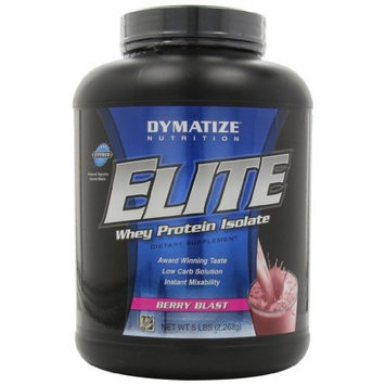 Dymatize Nutrition Elite Whey Protein Powder, Berry Blast