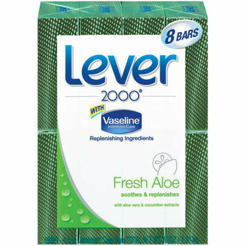 Lever 2000 Fresh Aloe Deodorant Soap 8 Ct