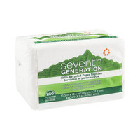 Seventh Generation Napkins White 1 Ply - 250 CT