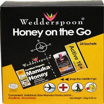 Wedderspoon Manuka On the Go Travel Packs, 24 CT (Pack of 1)