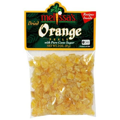 Melissa's Dried Orange Peels, 3-Ounce Bags (Pack of 12)