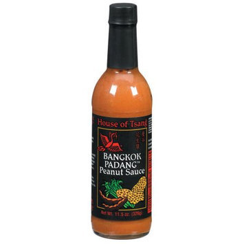 House Of Tsang Peanut Sauce, Bangkok Padang, 11.5 OZ (Pack of 6)