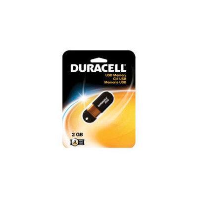 Duracell DURACELL 2GB Capless Universal Serial Bus (USB) Flash Memory Drive - Black/Copper DUZP02GCAN3R