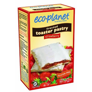 eco-planet Frosted Toaster Pastries, Strawberry, 7-Ounce Boxes (Pack of 6)