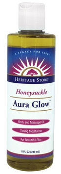 Aura Glow Honeysuckle Heritage Store 8 oz Oil