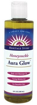 Aura Glow Honeysuckle Heritage Store 8 oz Oil