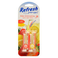 Refresh Air Freshener Auto Vent Stick - Strawberry/Lemonade, 4 ct