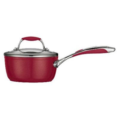 Tramontina Ceramica 1.5 qt. Covered Sauce Pan - Red
