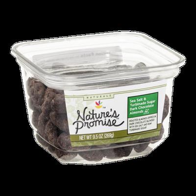 Nature's Promise Sea Salt & Turbinado Sugar Dark Chocolate Almonds
