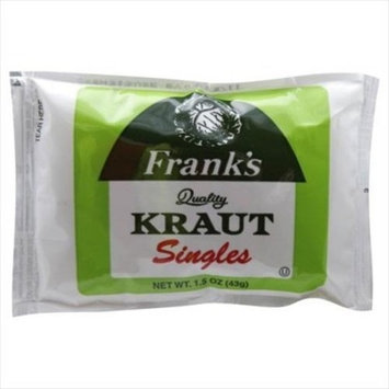 Frank's Sauerkraut Sngl 1.5 OZ (Pack of 18)