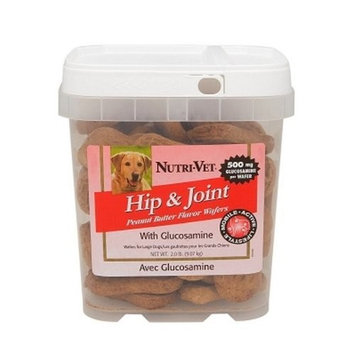 Nutri-vet Nutritionals 2 Lb Large Hip & Joint Wafers
