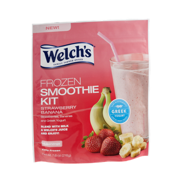 Welch's® Frozen Smoothie Kit Strawberry Banana