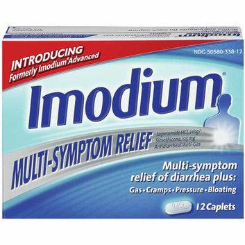 Imodium : Multi-Symptom Relief Caplets Multi-Symptom Relief
