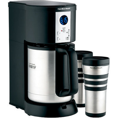 Hamilton Beach Stay or Go Thermal Coffeemaker Black Model 45237