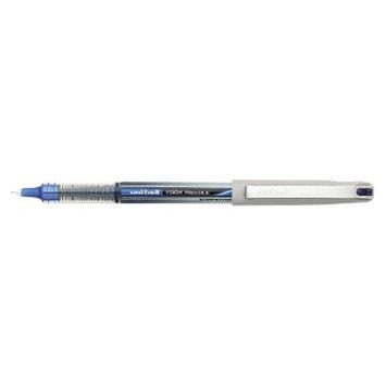 Uniball uni-ball Vision Needle Roller Ball Stick Liquid Pen, Fine- Blue Ink
