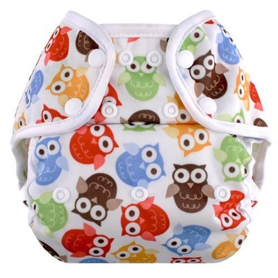 Blueberry Coveralls, Snaps, Owls (Discontinued by Manufacturer)