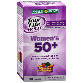 Nature's Bounty Your Life Multi Women's 45+ Multivitamin/Multimineral Specialty Formula Tablets