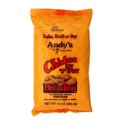 Andy's Seasoning Hot N Spicy Chicken Breading