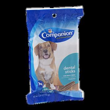 Companion Dental Sticks for Small Dogs - 10 CT