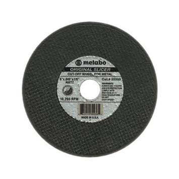 Metabo ORIGINAL SLICER Cutting Wheels - 4 1/2inx1/16inx7/8in a60tz t27 cutting wheels (Set of 10)
