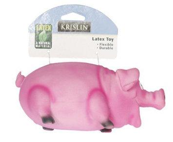 Krislin Inc. KRISLIN INC. Krislin Latex Pig Dog Toy - KRISLIN INC.