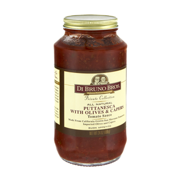 Di Bruno Bros Private Collection All Natural Puttanesca with Olives & Capers Tomato Sauce