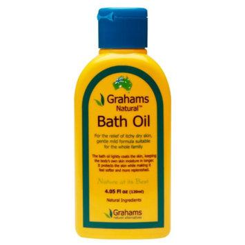 Grahams Natural Alternatives Bath Oil, 4.05 fl oz