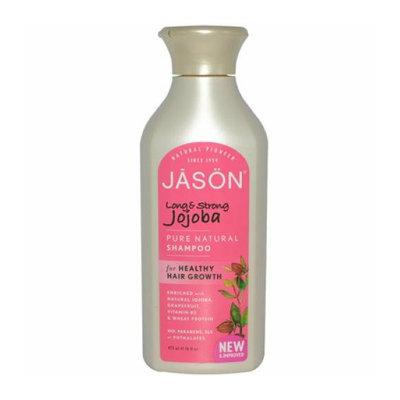 Jason Natural Products/Hain Celestial Group, Inc Jason Pure Natural Shampoo Long and Strong Jojoba 16 fl oz