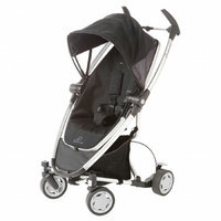 Quinny Zapp Xtra Stroller with Folding Seat, Rocking Black, 1 ea