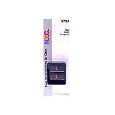 NYC New York Color N.Y.C. New York Color Dual Pencil Sharpener, 979A