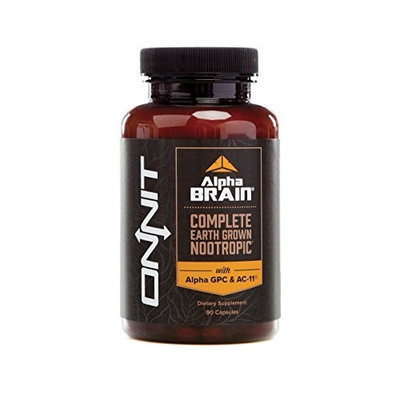 Alpha BRAIN® (90ct) The Flagship Complete Balanced Nootropic by Onnit Labs