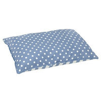 Happy Hounds Bosco Small 24 by 36-Inch Dog Bed, Blue/White