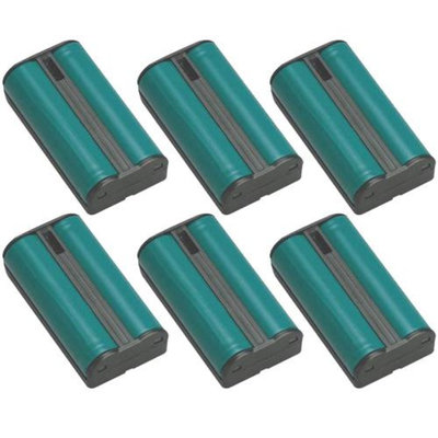 Battery for All Brands 2400/2401 (6 Pack) Replacement Battery