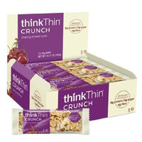 Thinkthin Thin Bar, Cherry Mix Nuts , 1.41 oz (pack of 10 ) ( Value Bulk Multi-pack)