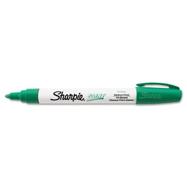 Sanford 35552 Permanent Paint Marker Medium Point Green