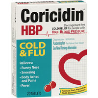 Coricidin HBP Cold & Flu Relief