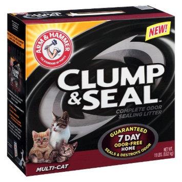Arm & Hammer Clump & Seal Multi-Cat Litter 19 lb