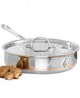 All Clad ALL CLAD 3 Quart Saute Pan With Lid Copper Core