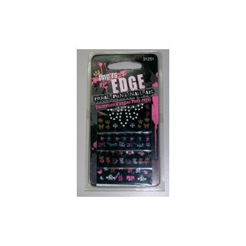 Pacific World Fing'rs Edge Decals, Royal Punk Nail Art, 4 ct.