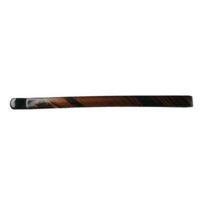 Smoothies Flat Curved Bob Pins-Brown 4pcs 01645