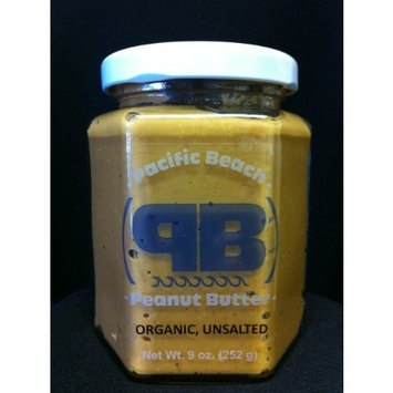 Pacific Beach Peanut Butter Flavored Spread, Organic Unsalted, 12 Ounce