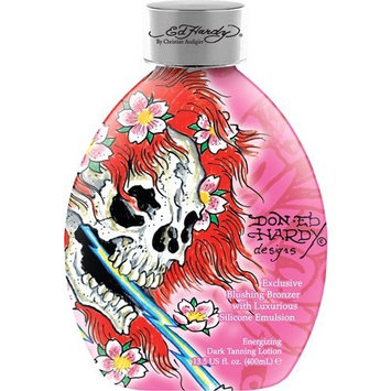 2010 Ed Hardy Ghost Skull Body Blush Silicone Bronzer Tanning Lotion 13.5 oz.