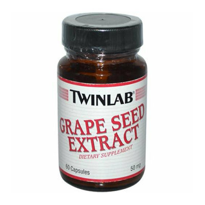 Twinlab Grape Seed Extract 50 mg 60 Capsules